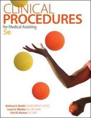 Clinical Procedures for Medical Assisting 5th Edition 9780077657123 0077657128
