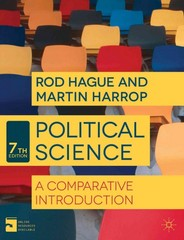 Political Science 7th Edition 9781137324030 1137324031
