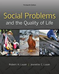 Social Problems and the Quality of Life 13th edition 9780078026867 0078026865