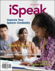 iSpeak 5th edition 9780078036880 0078036887