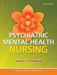 Psychiatric-Mental Health Nursing 6th Edition 9781451187892 1451187890