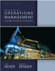 Principles of Operations Management 9th Edition 9780133148794 0133148793