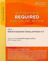 SAM 2013 Assessment, Training, and Projects v1.0 Multi-Term Printed Access Card 1st Edition 9781285427492 1285427491