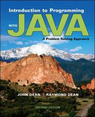 Introduction to Programming with Java 2nd Edition 9780073376066 007337606X