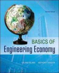 Basics of Engineering Economy 2nd Edition 9780073376356 0073376353