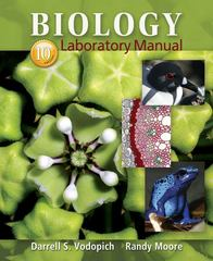 Biology Laboratory Manual 10th Edition 9780073532257 0073532258