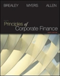 Connect Finance 1 Semester Access Card for Principles of Corporate Finance