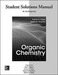 Solutions Manual for Organic Chemistry 9th Edition 9780077457471 0077457471