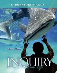 Lab Manual for Inquiry into Life 14th edition 9780077516246 0077516249