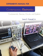 Experiments Manual For Contemporary Electronics 1st Edition 9780077520878 0077520874
