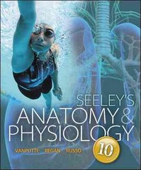Seeley's Anatomy & Physiology with Connect Plus Access Card 10th Edition 9780077771492 0077771494