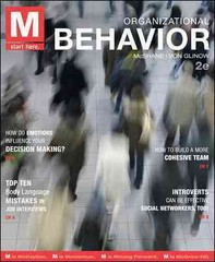 M: Organizational Behavior with Connect Plus 2nd Edition 9780077801960 0077801962