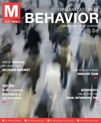 M: Organizational Behavior 2nd Edition 9780078029516 0078029511