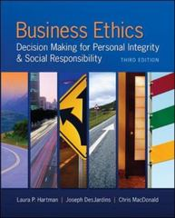 Business Ethics 3rd Edition 9780078029455 0078029457