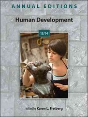 Annual Editions: Human Development 13/14 42th Edition 9780078136047 0078136040