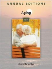 Annual Editions: Aging 13/14 26th Edition 9780078136085 0078136083