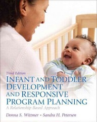 Infant and Toddler Development and Responsive Program Planning 3rd Edition 9780133397796 0133397793