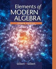Elements of Modern Algebra 8th Edition 9781285463230 1285463234