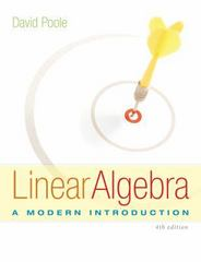 Linear Algebra 4th Edition 9781285463247 1285463242