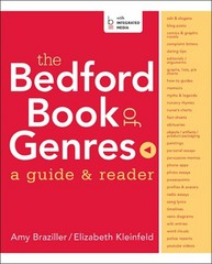 The Bedford Book of Genres 1st Edition 9780312386566 0312386567