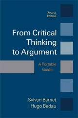 From Critical Thinking to Argument 4th Edition 9781457649950 1457649950