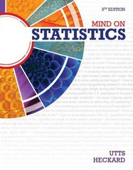 Mind on Statistics 5th Edition 9781285463186 1285463188