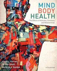 Mind/Body Health 5th Edition 9780321883452 0321883454