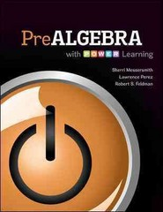 Prealgebra with P.O.W.E.R. Learning 1st edition 9780073406251 0073406252