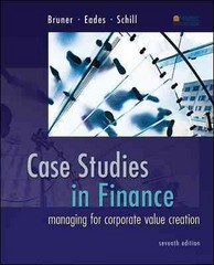 Case Studies in Finance 7th Edition 9780077861711 007786171X