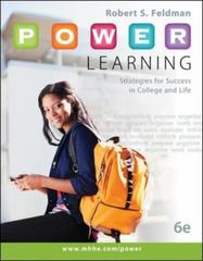 P.O.W.E.R. Learning 6th Edition 9780073522463 0073522465