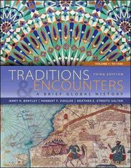 Traditions & Encounters 3rd edition 9780077412050 0077412052
