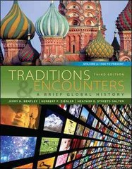 Traditions & Encounters 3rd Edition 9780077412067 0077412060