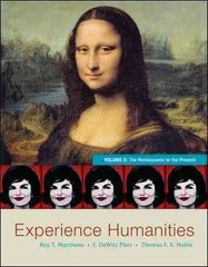 Experience Humanities Volume 2 8th Edition 9780077494711 0077494717