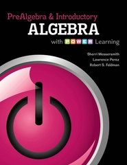 Prealgebra and Introductory Algebra with P.O.W.E.R. Learning w/ ALEKS User Guide & 18 Week Access Code 1st edition 9780077736811 0077736818