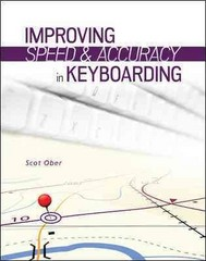Improving Speed and Accuracy in Keyboarding with Software Registration Card 1st Edition 9780077804749 0077804740