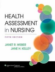 Health Assessment in Nursing 5th Edition 9781451142808 1451142803