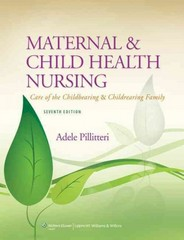 Maternal and Child Health Nursing 7th Edition 9781451187908 1451187904