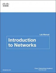 Introduction to Networks v5.0 Lab Manual 1st edition 9781587133121 1587133121