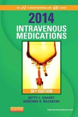 2014 Intravenous Medications 3rd Edition 9780323084789 0323084788