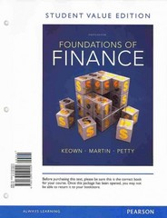 Foundations of Finance, Student Value Edition 8th Edition 9780133019292 0133019292