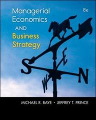 Managerial Economics & Business Strategy 8th Edition 9780073523224 0073523224