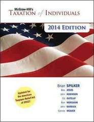 McGraw-Hill's Taxation of Individuals, 2014 Edition 5th Edition 9780077631741 0077631749
