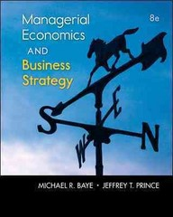 Loose-Leaf Managerial Economics and Business Strategy with Connect Access Card 8th edition 9780077716295 0077716299