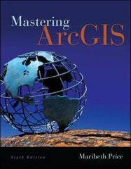 Mastering ArcGIS with Video Clips DVD-ROM 6th Edition 9780077826260 0077826264