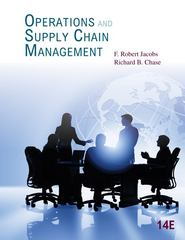 Operations and Supply Chain Management 14th Edition 9780078024023 0078024021