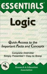 Logic Essentials 1st Edition 9780738671628 0738671622