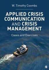Applied Crisis Communication and Crisis Management 1st Edition 9781483311050 1483311058