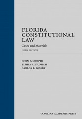 Florida Constitutional Law 5th Edition 9781611630848 1611630843