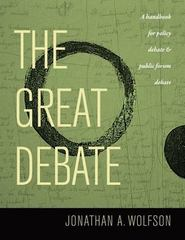 The Great Debate 1st Edition 9780974639826 0974639826