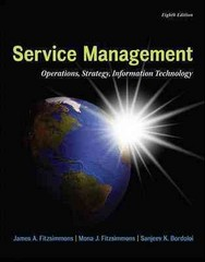 Service Management with Service Model Software Access Card 8th Edition 9780077841201 0077841204